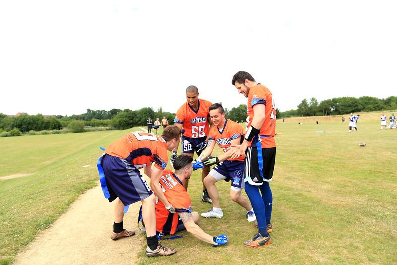 Northampton Titans league tournament at Caroline Chisholm School on Saturday 8th July 2017