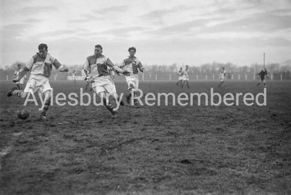 Aylesbury Utd v Berkhamsted Town Dec 27th 1952