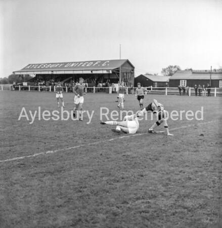 Aylesbury Utd v Berkhamsted, Aug 26th 1965