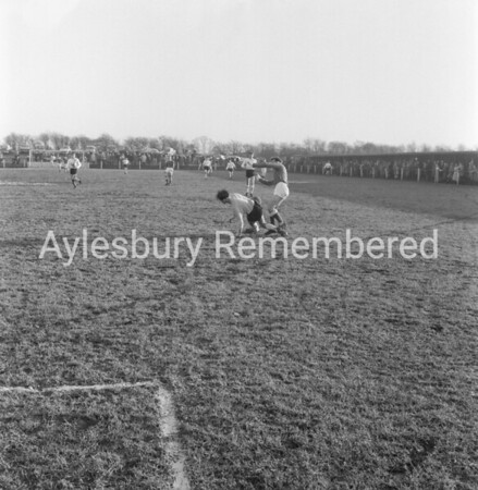 Aylesbury Utd v Berkhamsted Town, Dec 28th 1963