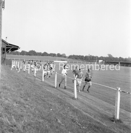 Aylesbury Utd training, July 30th 1973