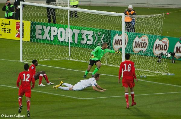 New Zealand vs. Bahrain, World Cup Qualifier, Westpac Stadium, Wellington, 14 November 2009