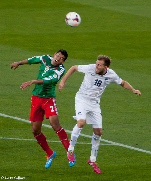 All Whites vs. Mexico, FIFA World Cup Intercontinental Playoff, Westpac Stadium, Wellington, 20 November 2013