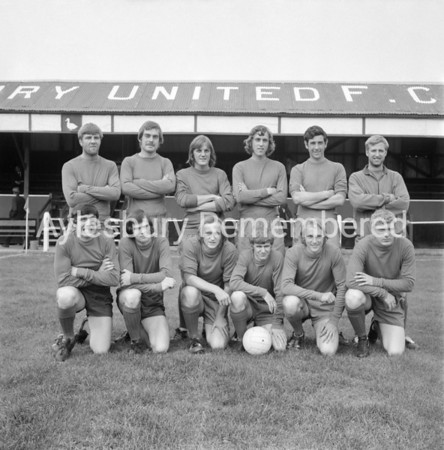 Aylesbury United team, 1972