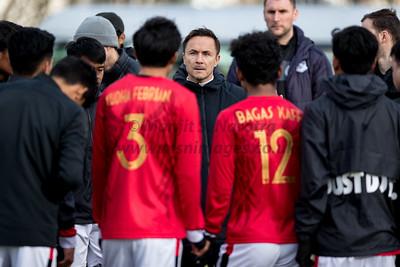13th Feb 2019, Indonesia U17's vs Macclesfield U18's,