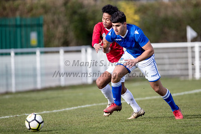13th Feb 2019, Indonesia U17's vs Macclesfield U18's,