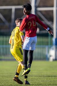 3rd Dec 2019, Garuda Select XI vs Burton Albion U18s, Birmingham FA HQ