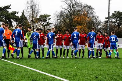 26th Nov 2019, Garuda Select XI vs Gillingham U18s