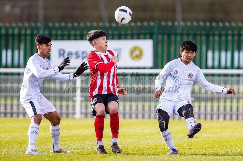 12th Feb 2020, Garuda Select XI vs Sheffield Utd U18s, Birmingham FA