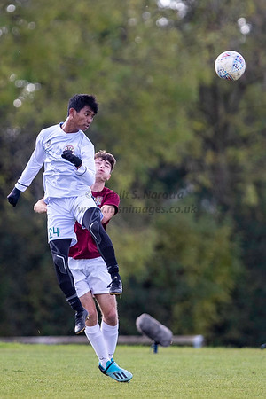 22nd Oct 2019, Garuda Select vs Northampton U18, Northampton