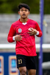 Garuda Select XI vs Huddersfield Town U18s. 27th April 2021