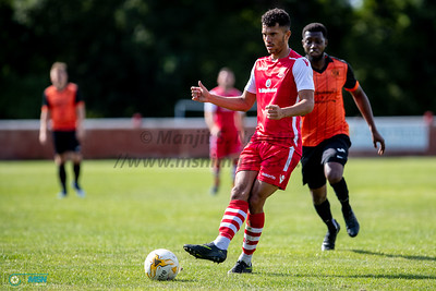 25th August 2018, Highgate FC vs Leicester Road FC, FA Cup Preliminary Round