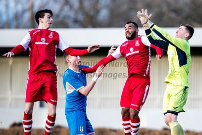 29th Dec 2018, Highgate FC vs Lye Town, Total Motion MFL Premier Division. The Coppice, Tythe Barn Lane