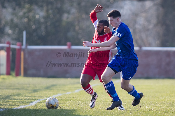 23rd Fob 2019, Highgate FC vs Quorn FC, Total Motion MFL Premier Division, The Coppice