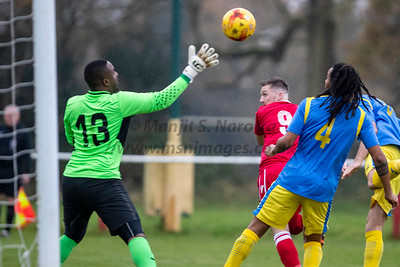 23rd Nov 2019, Highgate United FC vs Tividale FC, Midland Football League Premier Division