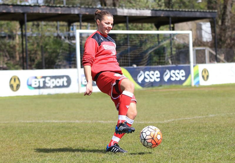Photo: Leila Coker Watford Ladies v Bristol City  Premier League Match 01/05/2016