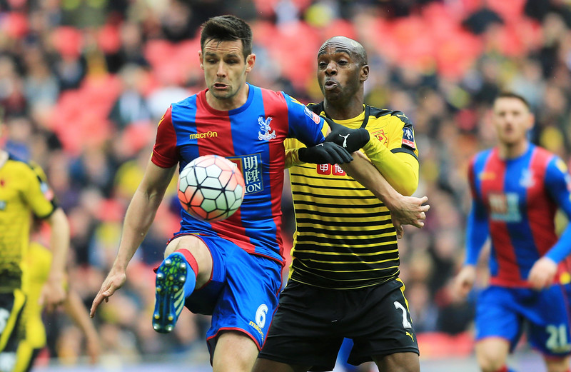 Photo: Media Image Ltd Crystal Palace v Watford  24/04/2016  ©Media Image Ltd - MI News & Sport. FA Accredited. Premier Premier League Licence No: PL15/16/P5067. Football League Licence No: FLGE15/16/P5067. Football Conference Licence No: PCONF 222/15 Tel +44(0)7974 568 859.email andi@mediaimage.ltd.uk, 16 Bowness Avenue, Cheadle Hulme. Stockport. SK8 7HS. Credit Media Image Ltd