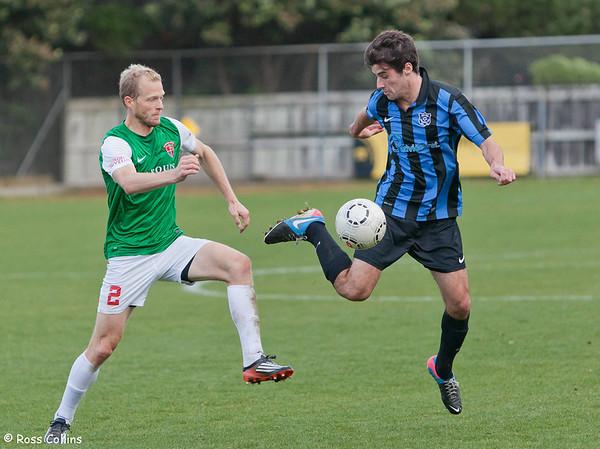 Miramar Rangers vs. Wairarapa United, Central League, David Farrington Park, 25 May 2013