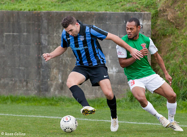Miramar Rangers vs. Wairarapa United, Central League, David Farrington Park, 25 May 2013