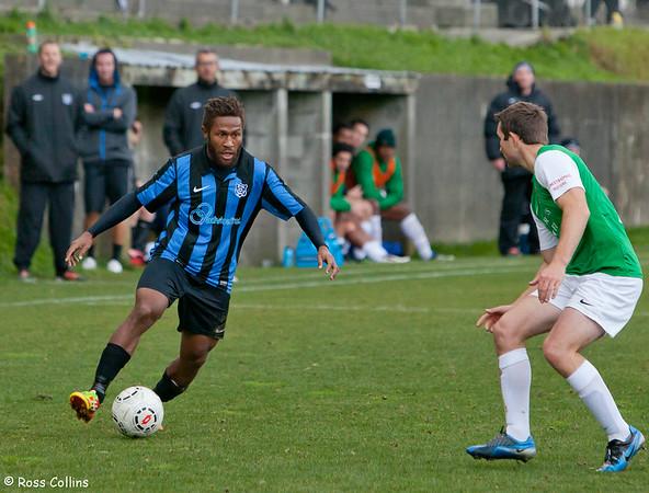 Miramar Rangers vs. Wairarapa, Chatham Cup Round 2, David Farrington Park, 3 June 2013