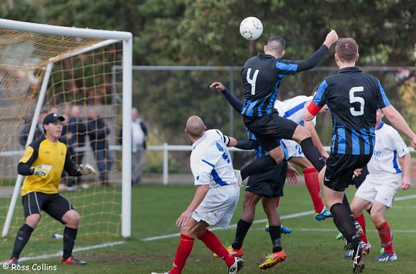 Miramar Rangers vs. Napier City Rovers, Central League, David Farrington Park, 1 June 2013
