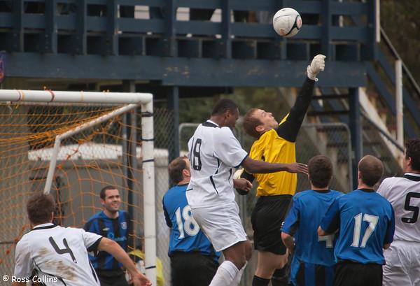 Miramar Rangers vs. East Coast Bays, Chatham Cup Semifinal, David Farrington Park, 15 August 2010