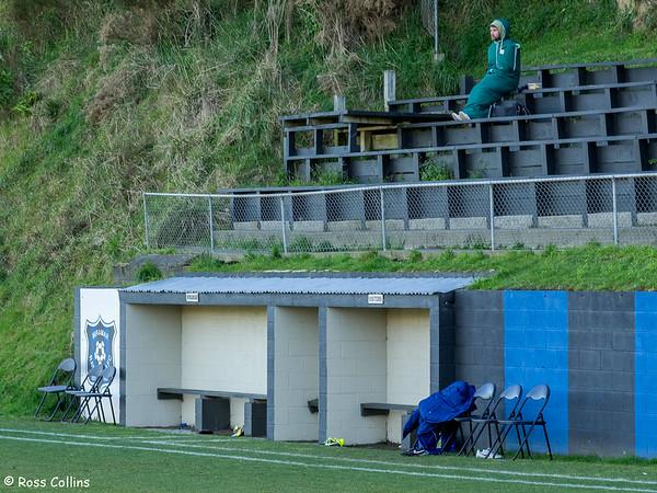 Miramar Rangers 2 vs. Olympic 0, Central League, David Farrington Park, Miramar, 9 August 2014