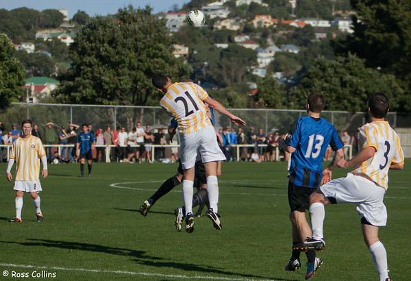 Miramar Rangers vs. Central United, Chatham Cup Semifinal, David Farrington Park, Wellington, 4 August 2012