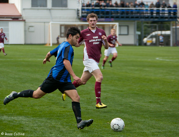 Miramar Rangers vs. Dunedin Technical, Chatham Cup Quarterfinal, David Farrington Park, Wellington, 22 July 2012