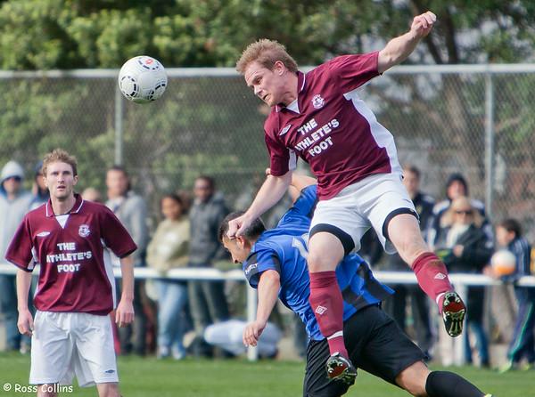 Miramar Rangers vs. Dunedin Technical, Chatham Cup Quarterfinal, David Farrington Park, Wellington, 22 July 2012