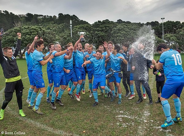 Seatoun AFC Capital 2 Champions, Seatoun Park, Wellington, 28 July 2018