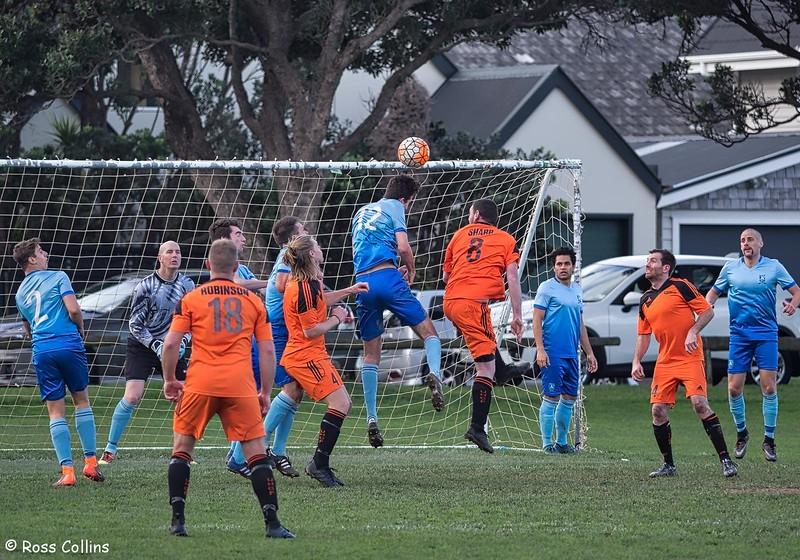 Seatoun AFC 3 vs. Upper Hutt Hooligans 0, Seatoun Park, Wellington, 28 July 2018