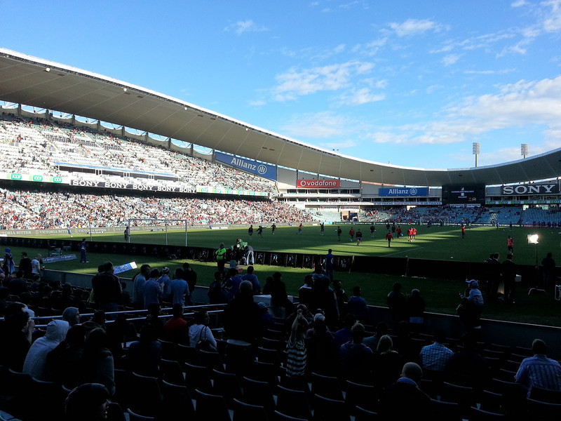 First home game of the season: Sydney FC vs Newcastle Jets (2-3)