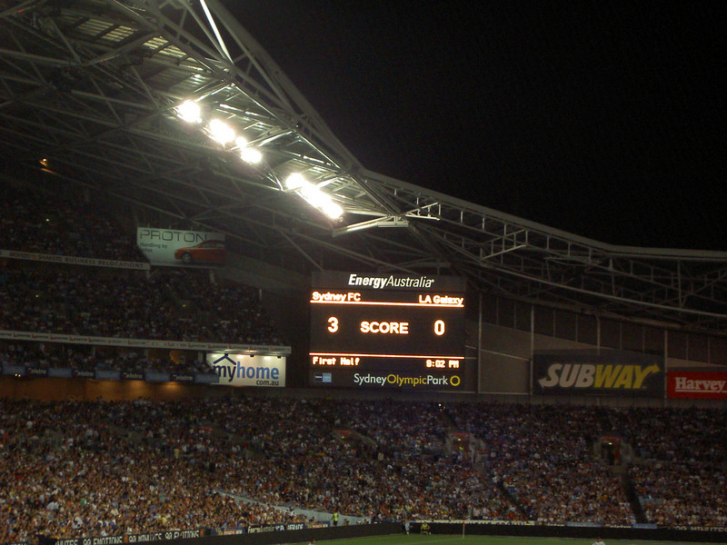 Sydney FC don't see that kinda score often, but then LA Galaxy are crap.
