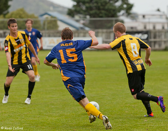 Team Wellington vs. Otago United, ASB Premiership, David Farrington Park, 23 October 2011