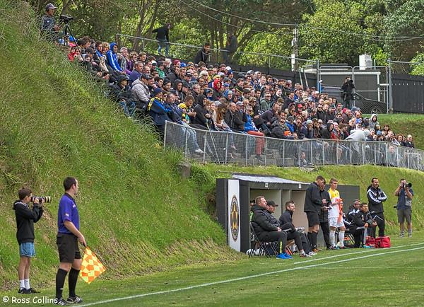 Team Wellington vs. Wellington Phoenix Premiers, ASB Premiership, David Farrington Park, Wellington, 2 November 2014