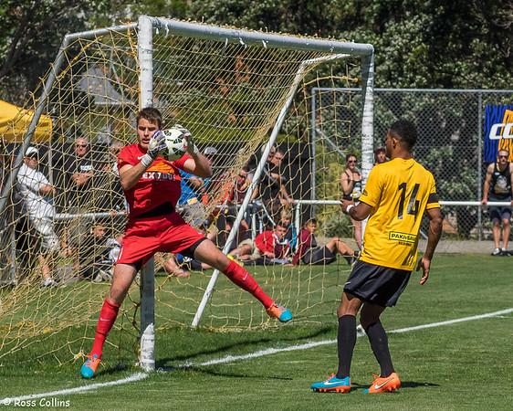 Team Wellington vs. Auckland City, ASB Premiership, David Farrington Park, Wellington, 29 November 2014