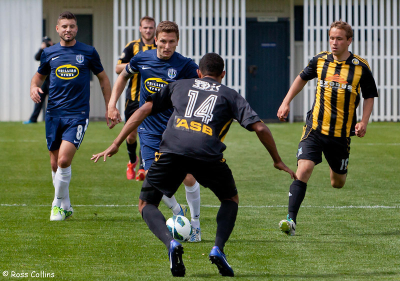 Team Wellington vs. Auckland City, ASB Premiership, 10 November 2013