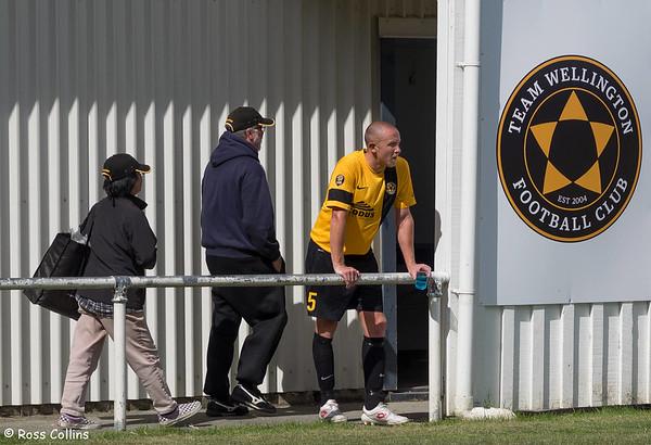 Team Wellington vs. Waitakere United, ASB Premiership, David Farrington Park, 11 January 2015