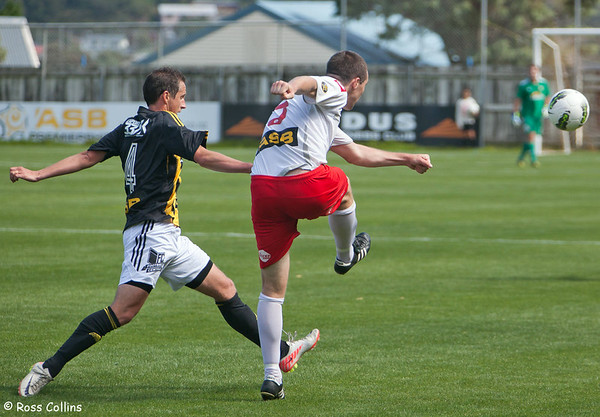 Team Wellington vs. Waitakere United, ASB Premiership, David Farrington Park, 12 January 2013