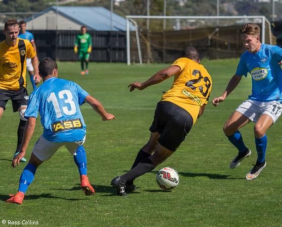 Team Wellington 1 vs. Wanderers SC 1