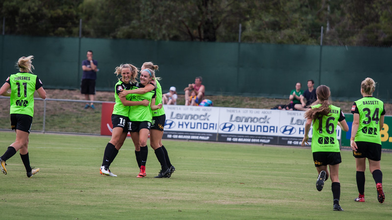 Ellie first goal for canberra