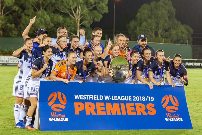 Melbourne Victory Premiers 2018/19