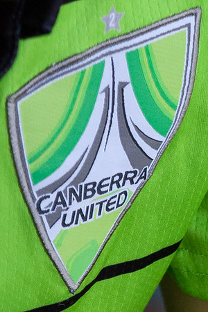 Canberra United shirt logo