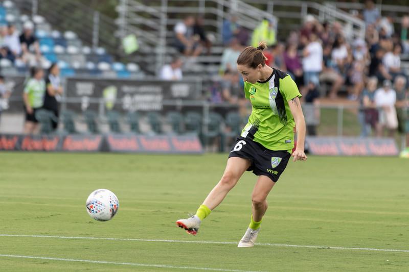 Emma Stanbury shot at goal