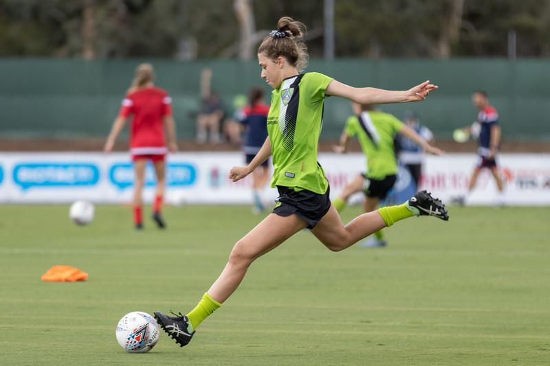 Rachael Goldstein shot at goal