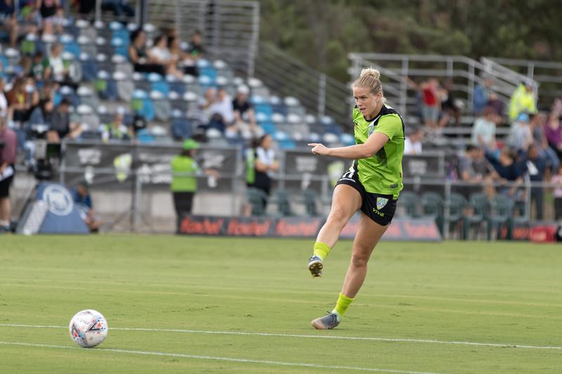 Elise Thorsnes goal shot
