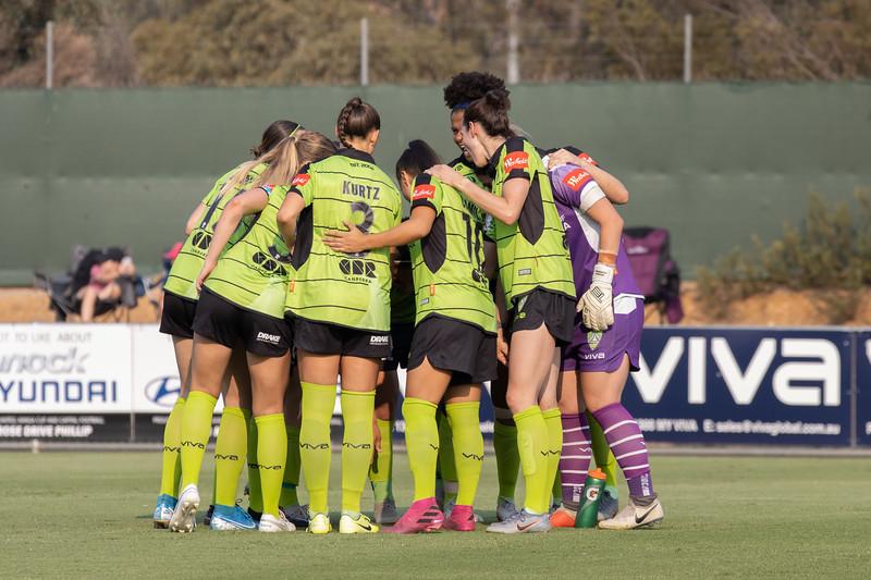 Canberra Team Huddle
