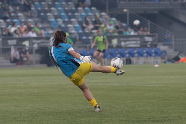 Sham practice kick