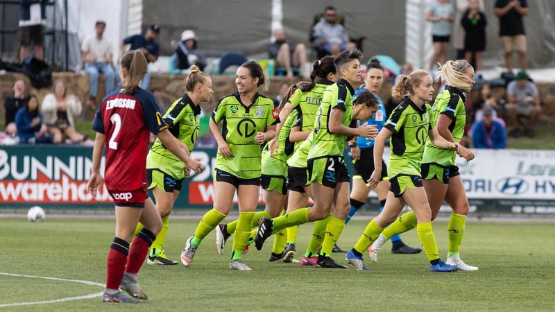 Michelle Heyman goal celebration